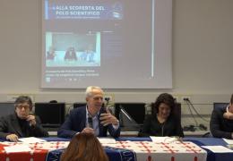"""Conferenza stampa di presentazione della trasmissione  di sesto.tv """"Alla scoperta del Polo Scientifico"""""""